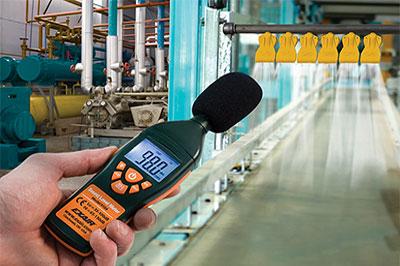 بيئة التشغيل قياس الضوضاء
