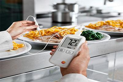درجة حرارة الغذاء والتحكم في درجة الحموضة