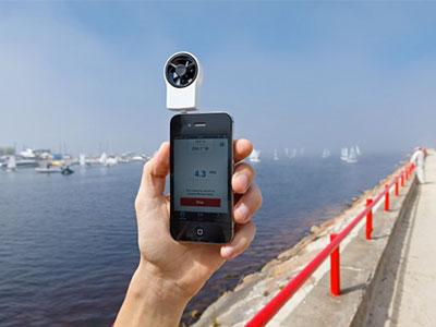 قياس سرعة الرياح