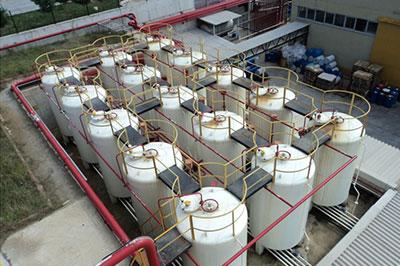 التفتيش على خزان الغاز الصناعي التفتيش