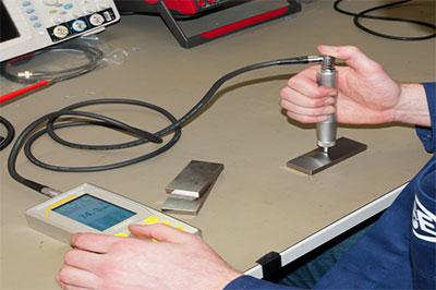 اختبار قياس الصلابة